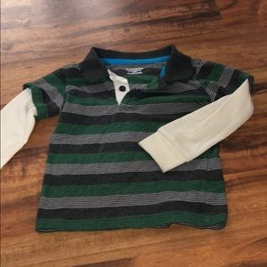 Toddler Polo with thermal sleeves